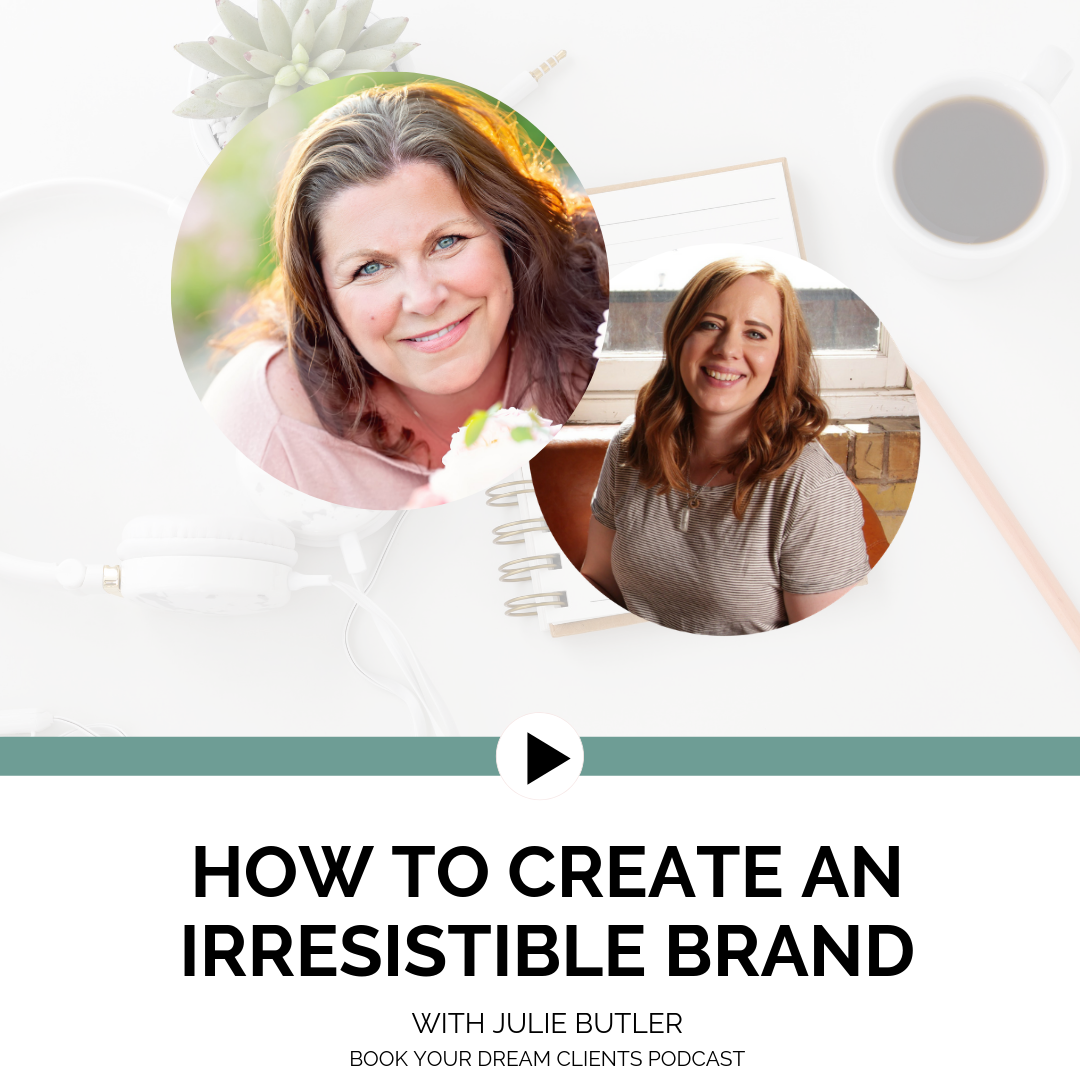 "Podcast Interview ""How to Create an Irresistible Brand"""